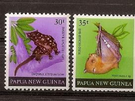 "Parduodu Papua N. Gvinėja ženklus tema ""fauna"""