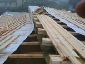 Profesionalus fasadų šiltinimas, stogų dengimas.