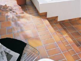 Klinkerio plytelės laiptams ir grindims