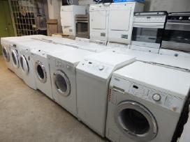 Naudotos skalbimo mašinos iš Vokietijos nuo 90 eur
