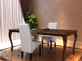 2 Valgomojo Kėdžių Komplektas - vidaxl