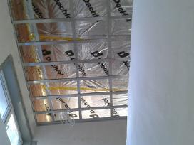 Apdailos darbai -gipso kartono montavimas 6eur.kv.