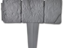 Plastikinė Tvorelė Gėlynui, 10 m - vidaxl