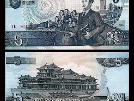 Koreja (Šiaurės) 5 Won 1998m. P40 Unc