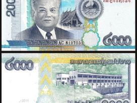 Laosas 2000 Kip 2011m. P41 Unc