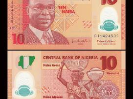 Nigerija 10 Naira 2013m. Unc