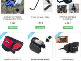 Specialus dviračio grandinės valymo ir sutepimo pr