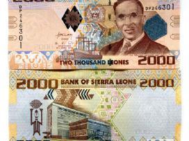 Siera Leone 2000 Leones 2010m. Unc