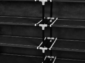 Medžiaginė Spintelė Batams 115 x 28 x 110 cm