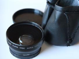 Wide angle Fish Eye adapter 58mm sriegiui
