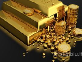 Lombardas perka auksąsidabrą gintaro dirbinius