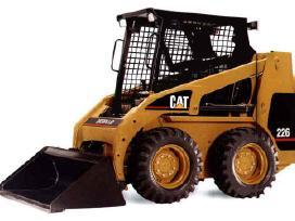 Bobcat, krautuvų padangos