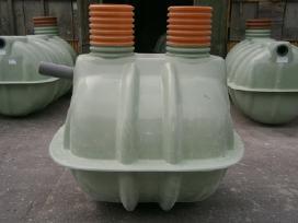 Triju skyriu 2300 valymo įrenginys Micinski