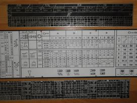 Metalo tekinimo staklių ir gręžimo staklių detales