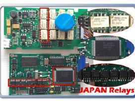 Lexia 3 Full Chip, ekranuota plokštė, nec reles