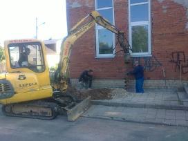 Minikrautuvų (Bobcat) nuoma Kaune ir Kauno regione
