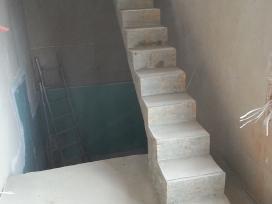 Betoniniai laiptai. Laiptų betonavimas ir apdaila