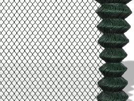 Tinklinė Tvora 1 x 25 m Žalia - vidaxl