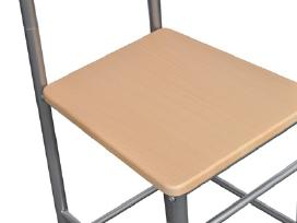 Dvi Kėdės – Kabyklos Rūbams - vidaxl