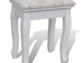 Kosmetinis Staliukas su Veidrodžiu, Kėdute vidaxl