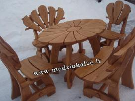 Lauko baldai mediniai Mažoji ramunė g