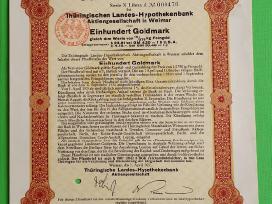 100 Goldmark 1927 m.