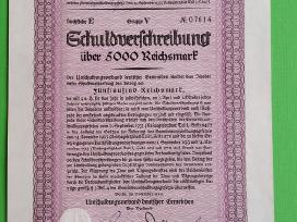 5000 Reichsmark 1933 m.