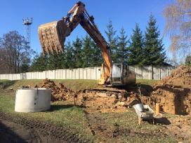 Ekskavatorių buldozerių bobkatų nuoma