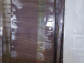 Šarvo metalinės lauko ir vidaus durys. Akcija.