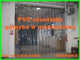 Pvc užuolaidos - prekyba   gamyba   montavimas