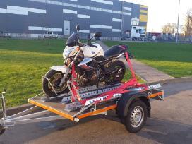 Motociklo priekabos nuoma
