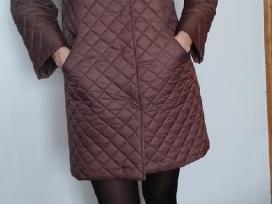 Šokoladinės spalvos paltukas