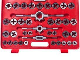 111 Dalių Sriegimo Įrankių Rinkinys, vidaxl