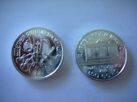 """2010 metų 1,5 euro 1 uncijos """"Wiener philharmonike"""