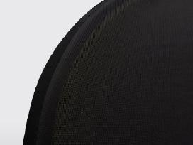 50 Tamprių Kėdžių Užvalkalų, Juodi, vidaxl