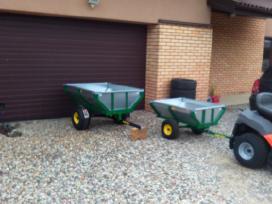 Sodo traktoriuko priekaba traktoriui traktoriukams