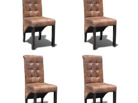 4 Aukštos Kokybės Valgomojo Kėdžių Komplektas