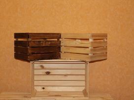 Medinės dėžes
