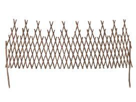 Išskleidžiama Karklinių Vytelių Tvora, 170 x 55 cm