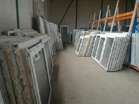 Nauji, naudoti, plastikiniai langai-durys pigiau