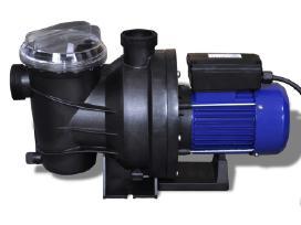 Elektrinis Baseino Siurblys 800 W, Mėlynas, vidaxl