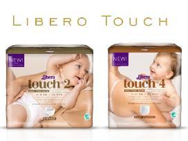 Libero Newborn, Comfort, Up&go, Touch - atvezame