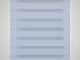 Zebra Žaliuzė, Roletas 80 x 150 cm, Baltas, vidaxl