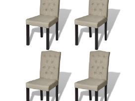 4 Antikvarinio Stiliaus Valgomojo Kėdės, vidaxl