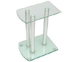 2 Stovai Garso Kolonėlėms iš Aliuminio ir Stiklo