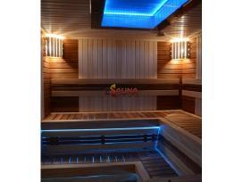 Turkiška garinė sauna pirčių įrengimas