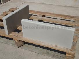 Betono plytelės, šaligatvio plytelės, borteliai