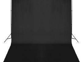 Fono Tvirtinimo Sistema su Juodu Fonu 500 x 300 cm