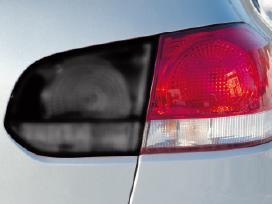 Automobilių žibintų, stiklų tonavimo plėvelės