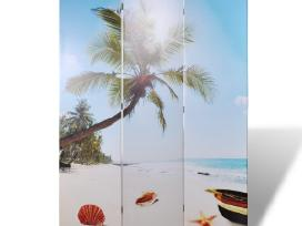 Kambario Pertvara su Paplūdimio Vaizdu 120 x 180